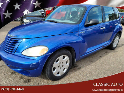 2004 Chrysler PT Cruiser for sale at Classic Auto in Greeley CO