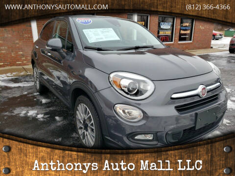 2017 FIAT 500X for sale at Anthonys Auto Mall LLC in New Salisbury IN