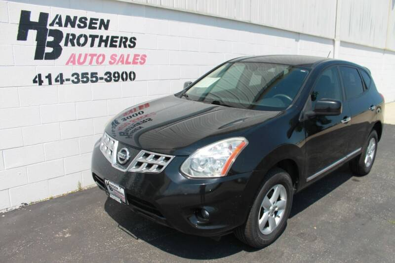 2013 Nissan Rogue for sale at HANSEN BROTHERS AUTO SALES in Milwaukee WI