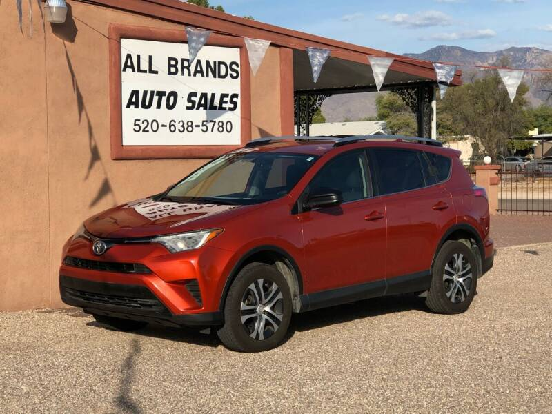2016 Toyota RAV4 for sale at All Brands Auto Sales in Tucson AZ