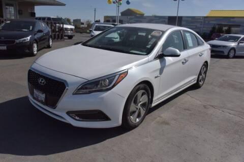 2016 Hyundai Sonata Hybrid for sale at Choice Motors in Merced CA