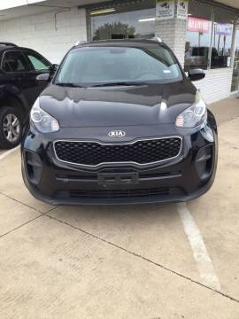 2017 Kia Sportage for sale at SP Enterprise Autos in Garland TX