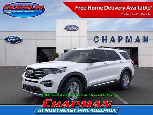 2021 Ford Explorer for sale at CHAPMAN FORD NORTHEAST PHILADELPHIA in Philadelphia PA