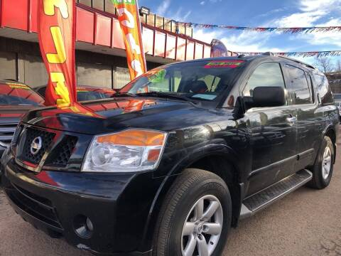 2015 Nissan Armada for sale at Duke City Auto LLC in Gallup NM