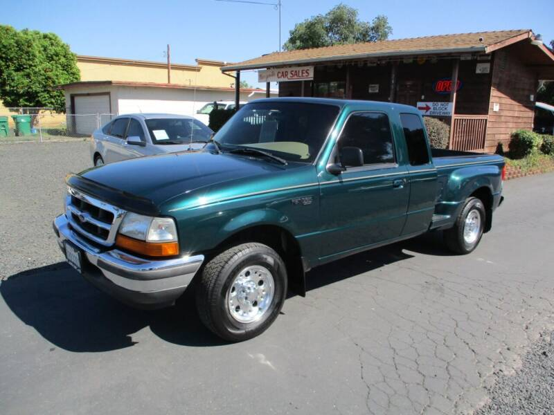 1998 Ford Ranger for sale at Manzanita Car Sales in Gridley CA