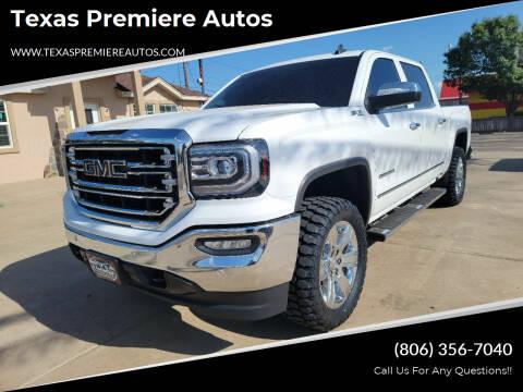 2018 GMC Sierra 1500 for sale at Texas Premiere Autos in Amarillo TX