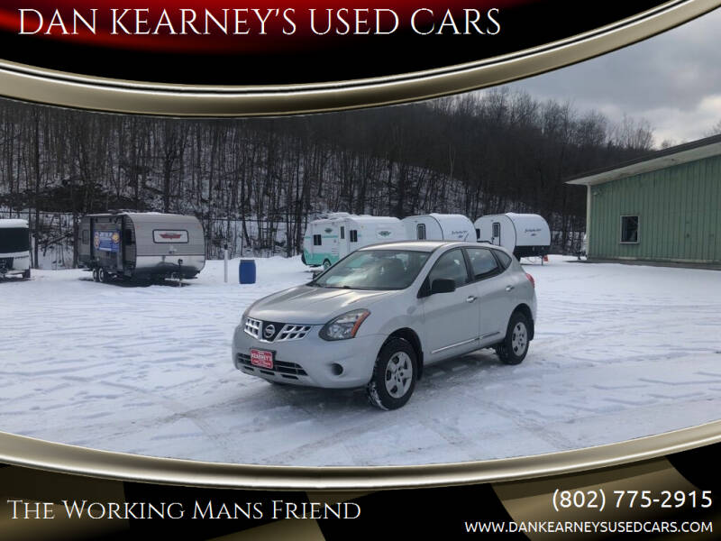 2014 Nissan Rogue Select for sale at DAN KEARNEY'S USED CARS in Center Rutland VT