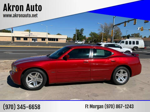 2006 Dodge Charger for sale at Akron Auto - Fort Morgan in Fort Morgan CO