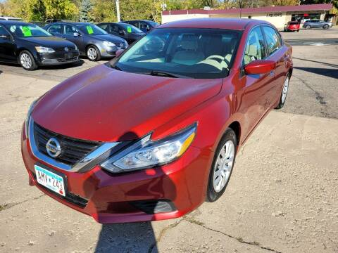 2016 Nissan Altima for sale at Prime Time Auto LLC in Shakopee MN