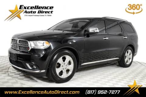 2015 Dodge Durango for sale at Excellence Auto Direct in Euless TX