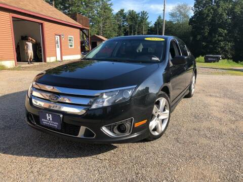 2010 Ford Fusion for sale at Hornes Auto Sales LLC in Epping NH