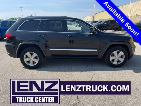 2012 Jeep Grand Cherokee for sale at LENZ TRUCK CENTER in Fond Du Lac WI