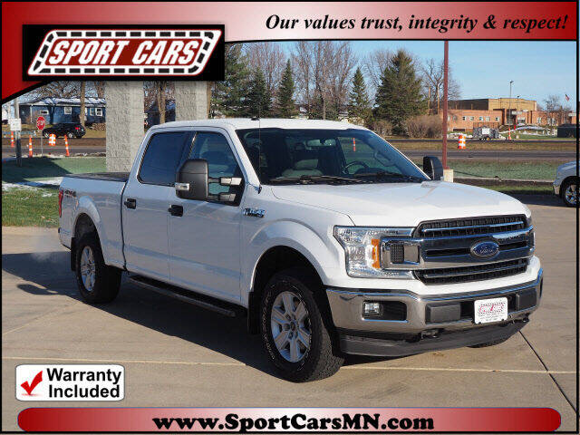 2018 Ford F-150 for sale at SPORT CARS in Norwood MN