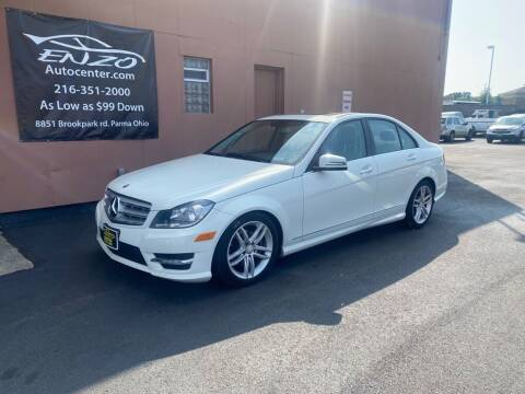 2012 Mercedes-Benz C-Class for sale at ENZO AUTO in Parma OH