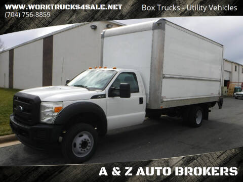2015 Ford F-450 Super Duty for sale at A & Z AUTO BROKERS in Charlotte NC