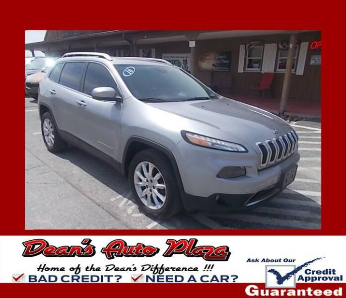 2016 Jeep Cherokee for sale at Dean's Auto Plaza in Hanover PA