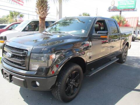 2013 Ford F-150 for sale at Affordable Auto Motors in Jacksonville FL