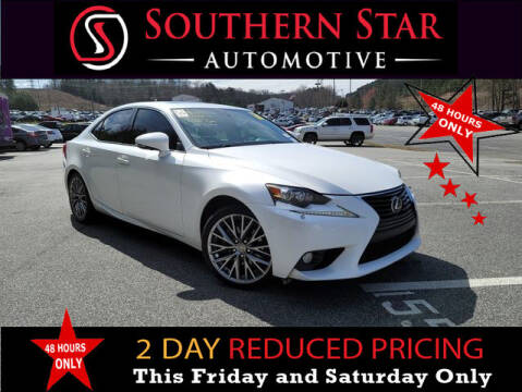 2014 Lexus IS 250 for sale at Southern Star Automotive, Inc. in Duluth GA