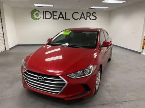 2018 Hyundai Elantra for sale at Ideal Cars East Mesa in Mesa AZ
