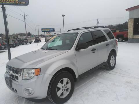 2010 Ford Escape for sale at Pepp Motors in Marquette MI