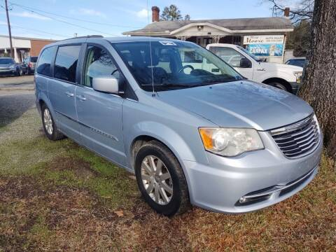 2013 Chrysler Town and Country for sale at Ray Moore Auto Sales in Graham NC