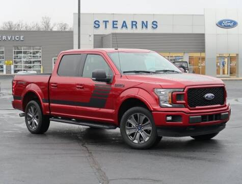 2018 Ford F-150 for sale at Stearns Ford in Burlington NC