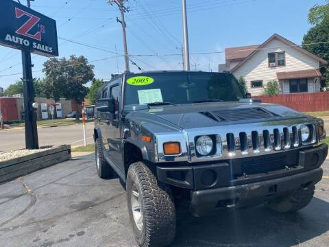 2005 HUMMER H2 for sale at Zs Auto Sales in Kenosha WI