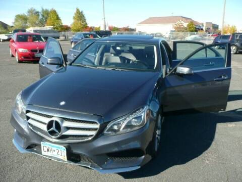 2014 Mercedes-Benz E-Class for sale at Prospect Auto Sales in Osseo MN
