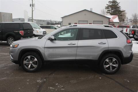 2020 Jeep Cherokee for sale at SCHMITZ MOTOR CO INC in Perham MN