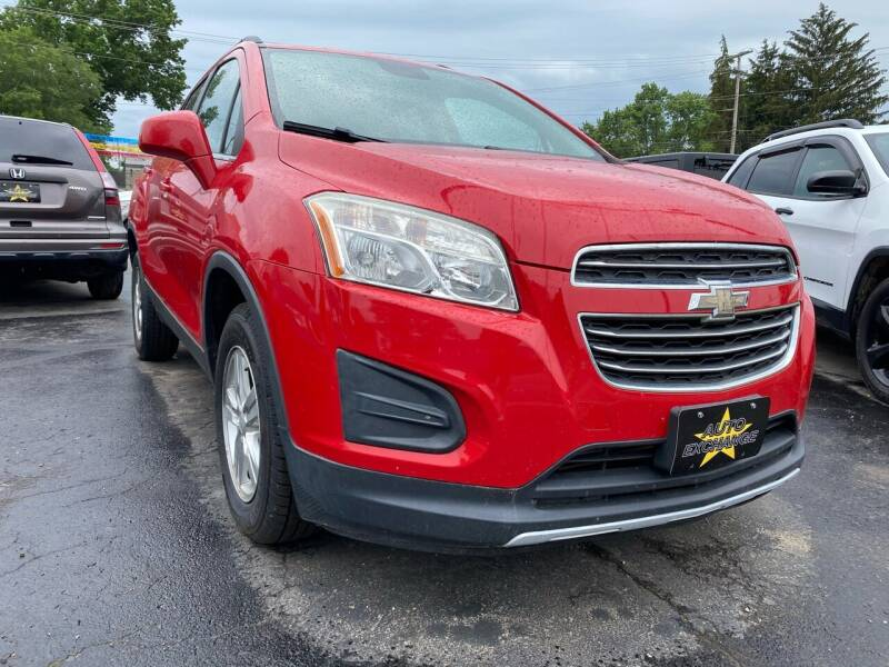 2015 Chevrolet Trax for sale at Auto Exchange in The Plains OH