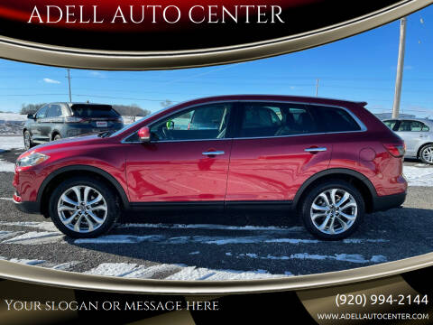 2013 Mazda CX-9 for sale at ADELL AUTO CENTER in Waldo WI