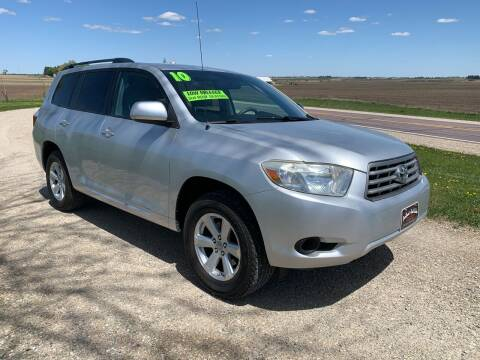 2010 Toyota Highlander for sale at BROTHERS AUTO SALES in Hampton IA