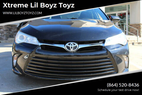2016 Toyota Camry for sale at Xtreme Lil Boyz Toyz in Greenville SC