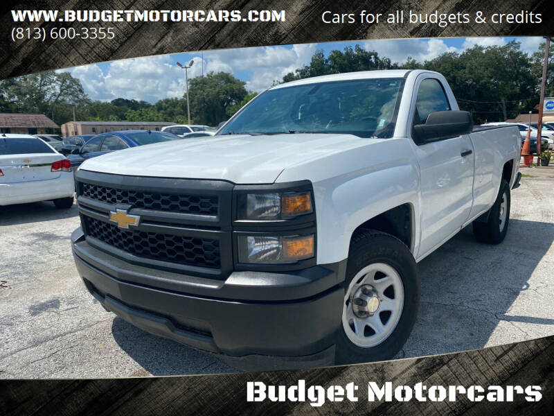2014 Chevrolet Silverado 1500 for sale at Budget Motorcars in Tampa FL