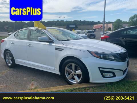 2015 Kia Optima for sale at CarsPlus in Scottsboro AL