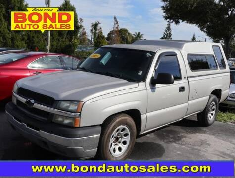 2005 Chevrolet Silverado 1500 for sale at Bond Auto Sales in St Petersburg FL