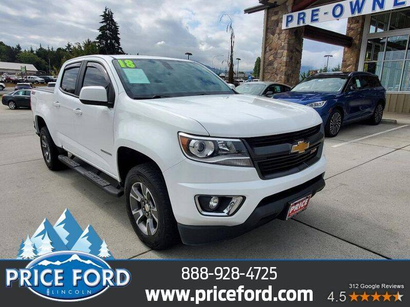 2018 Chevrolet Colorado for sale at Price Ford Lincoln in Port Angeles WA