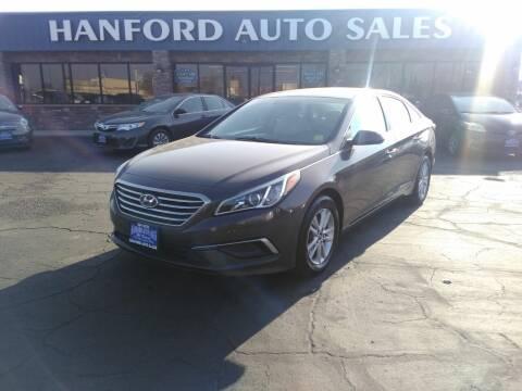 2017 Hyundai Sonata for sale at Hanford Auto Sales in Hanford CA