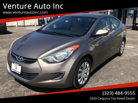 2011 Hyundai Elantra for sale at Venture Auto Inc in South Gate CA