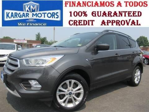 2017 Ford Escape for sale at Kargar Motors of Manassas in Manassas VA