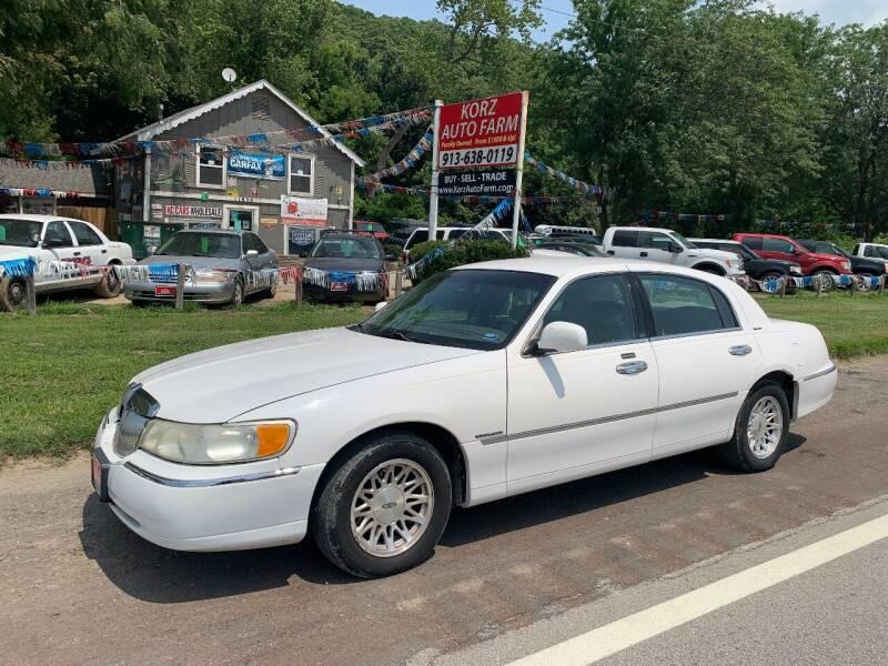 1999 Lincoln Town Car for sale at Korz Auto Farm in Kansas City KS