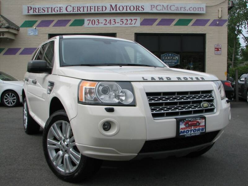 2010 Land Rover LR2 for sale at Prestige Certified Motors in Falls Church VA