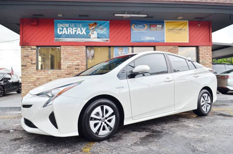 2016 Toyota Prius for sale at ALWAYSSOLD123 INC in North Miami Beach FL