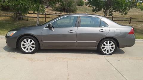 2006 Honda Accord for sale at Macks Auto Sales LLC in Arvada CO