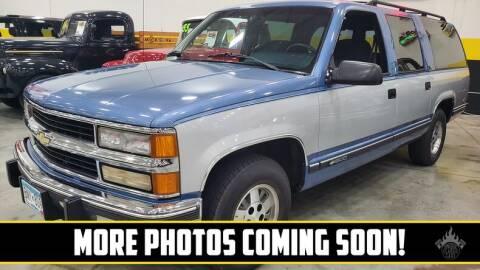 1994 Chevrolet Suburban for sale at UNIQUE SPECIALTY & CLASSICS in Mankato MN