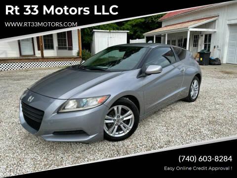 2011 Honda CR-Z for sale at Rt 33 Motors LLC in Rockbridge OH