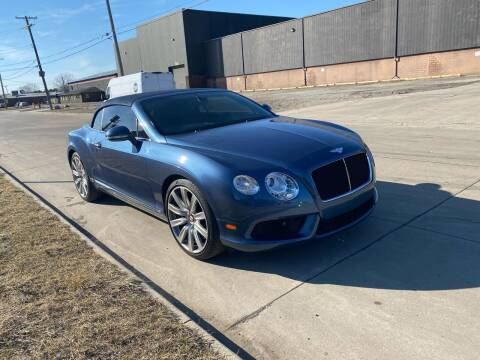 2014 Bentley Continental for sale at M-97 Auto Dealer in Roseville MI
