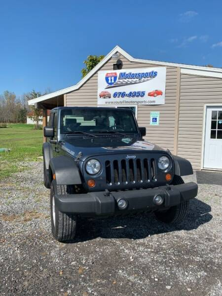 2008 Jeep Wrangler for sale at ROUTE 11 MOTOR SPORTS in Central Square NY