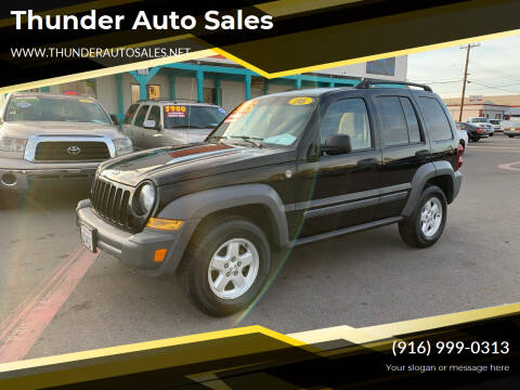 2006 Jeep Liberty for sale at Thunder Auto Sales in Sacramento CA