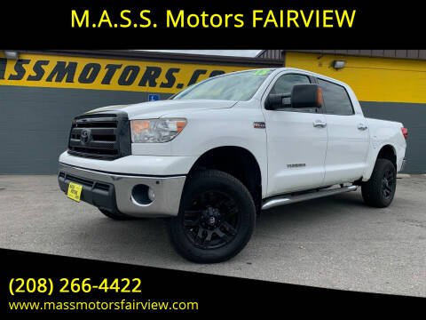 2013 Toyota Tundra for sale at M.A.S.S. Motors - Fairview in Boise ID